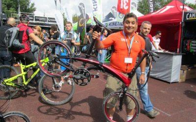 Eurobike 2013 Demo Day – Tern Folding Bikes Test Ride