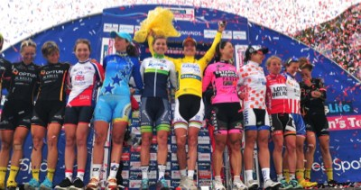 Final Women's Tour Press Conference – Garner, Laws & Ratto