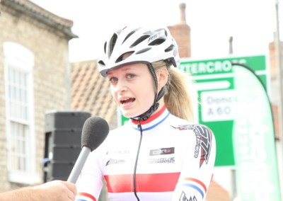 Tickhill GP – Ellie Dickinson Interview
