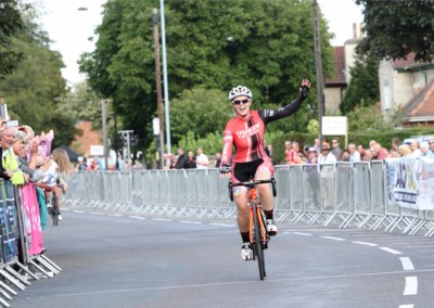 Tickhill GP 2014 Winner Tanya Griffiths Post Race Interview