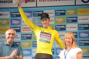 Dylan Van Baarle, Friends Life Yellow Jersey