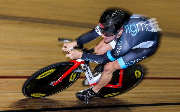 ©Alex Whitehead/SWpix.com - The Rigmar Racers' Callum Skinner wins Gold in the Men's 1000m Time Trial final.