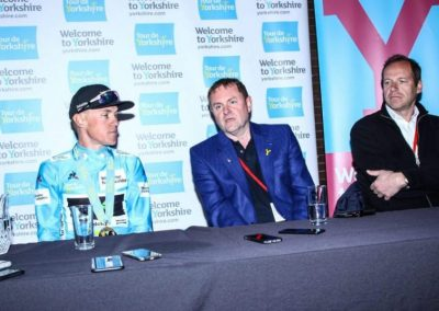 TdY2017 Winners Press Conference – Serge Pauwels & Sir Gary Verity