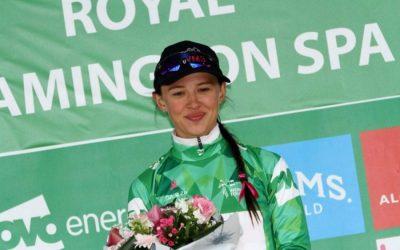 Interview – Katarzyna Niewadoma Green Jersey Holder OVO Women's Tour – Stage 3