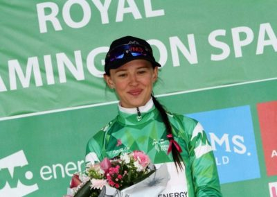 Interview – Katarzyna Niewadoma Green Jersey Holder OVO Women's Tour – Stage 3