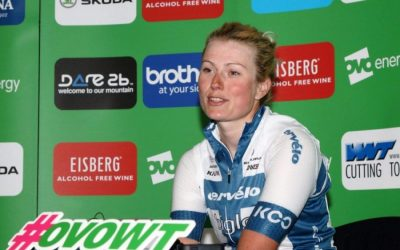 Interview – Lotte Lepisto – Stage 5 Winner – OVO Women's Tour 2018