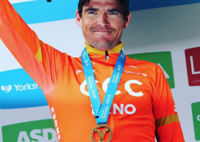 Interview – Greg van Avermaet – Winner of the Final Stage of Le Tour de Yorkshire 2019