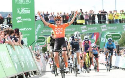 Interview – Marianne Vos – Stg 2 Winner & Green Jersey – OVO Womens Tour 2019