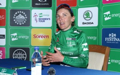 Interview – Lisa Brennauer OVO Women's Tour Green Jersey Stage 3