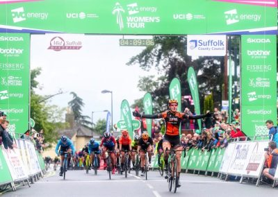 Interview – Jolien D'Hoore Stg 1 Winner 2019 – OVO Women's Tour – Stowmarket