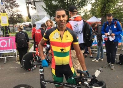 Interview – Christopher Sysmonds Representing Ghana – Elite Individual Time Trial