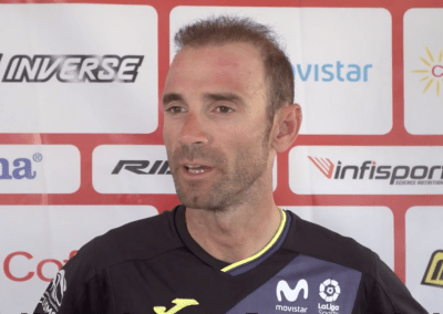 Interview with Alejandro Valverde 2018 Men's Elite Road Race UCI World Champion.