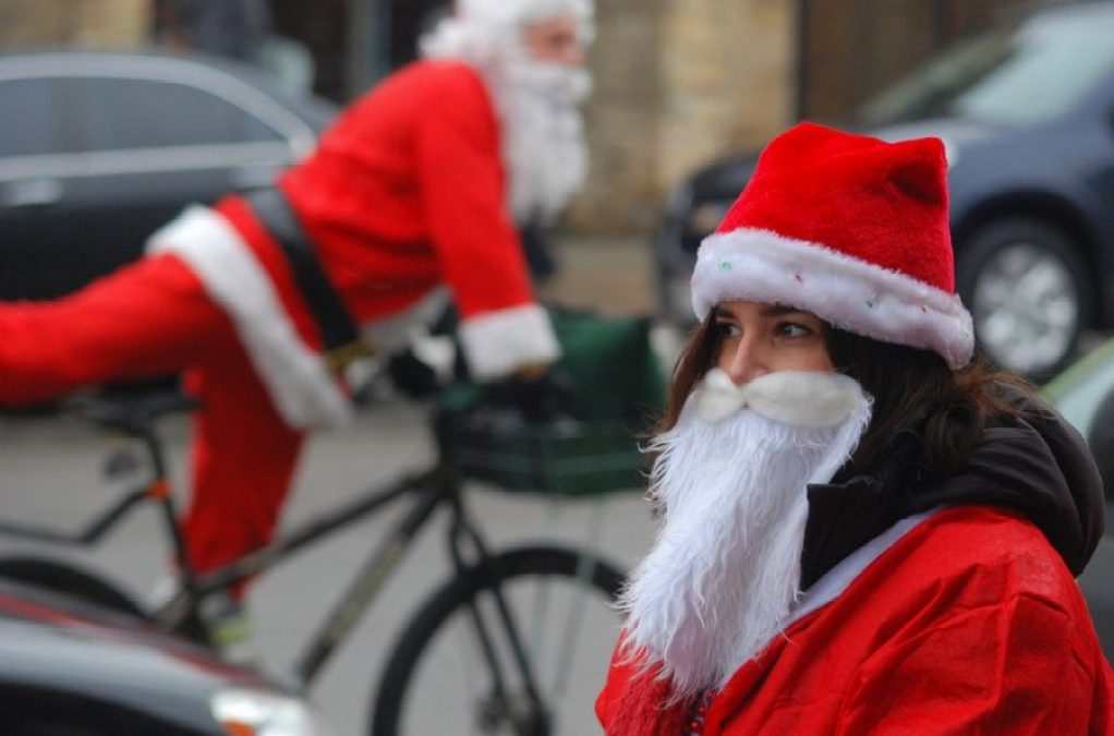 Cycling Santa's Christmas Shopping Guide 2015