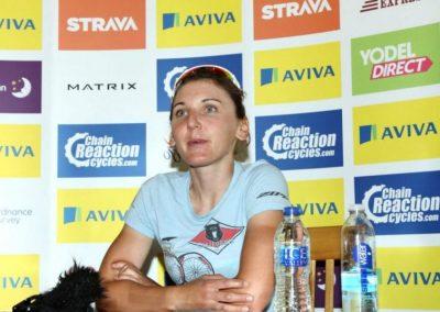 Lisa Brennauer Interview Stage 2 – Aviva Womens Tour 2015