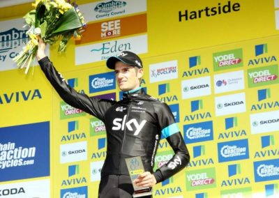 Wout Poels Stage 5 Winner Interview Aviva Tour Of Britain