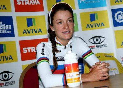 Interview – Lizzie Armitstead talks Yellow Post Stage 3