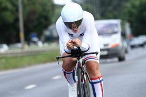 Team Jadan - Weldtite V718 10 Miler TT Fund Raiser 2016 - Hayley Simmonds (AeroCoach) New record 19.31
