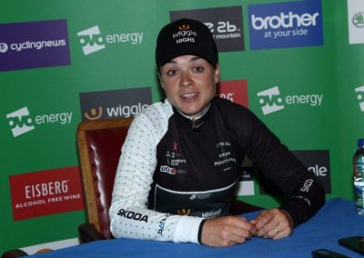 Interview with QoM's – Audrey Cordon-Ragot – Stage 4 OVO Women's Tour