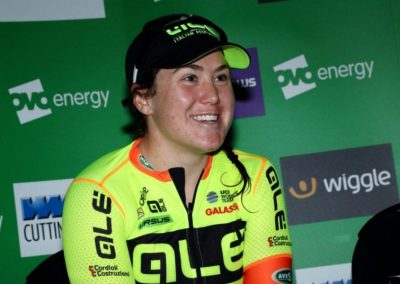 Interview – Chloe Hosking Stage 3 Winner – OVO Women's Tour