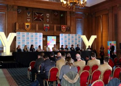 Eve of Tour de Yorkshire Press Conference 2018