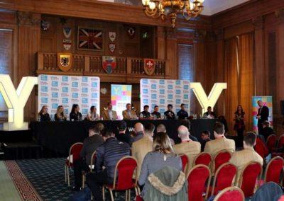 Eve of Tour de Yorkshire Press Conference 2018