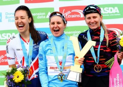 Tour Win – The Best Birthday Present – Women's Tour de Yorkshire 2018