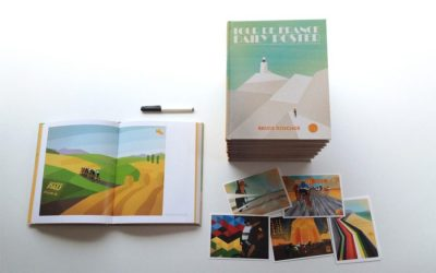 Win – Signed Copy – Tour de France Daily Poster Book