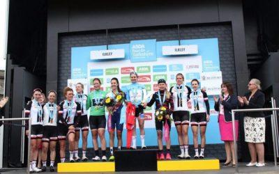 Podium Interviews – Women's Tour de Yorkshire 2018