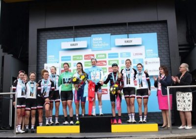Podium Interviews – Women's Tour de Yorkshire 2018