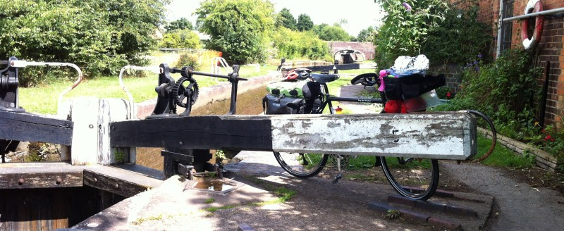 Trial run - 3 day ride to see my grandad along the canals, UK, 2015
