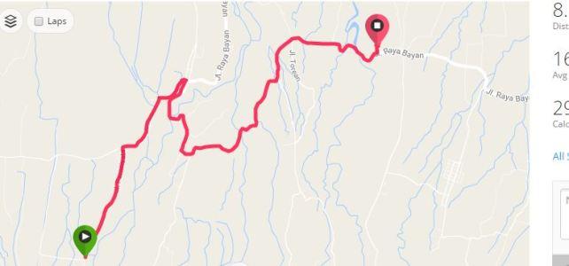 Latest GPS tracks