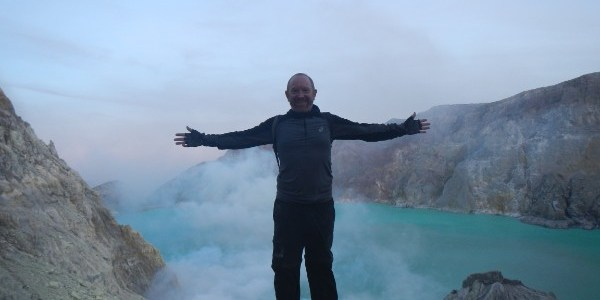 Climbing Volcano Ijen (Java)