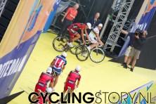 BMC rijdt het podium op (foto: © Laurens Alblas / Cyclingstory.nl)