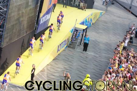 Rabobank rijdt het podium op (foto: © Laurens Alblas / Cyclingstory.nl)