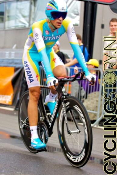 Ook Alberto Contador kwam niet in de buurt van de eerste tijd (foto: © Laurens Alblas/Cyclingstory.nl)