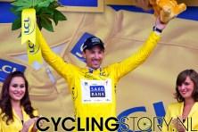 En natuurlijk de gele trui (foto: © Laurens Alblas/Cyclingstory.nl)