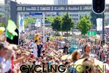 De echte start van de koers zal iets buiten de stad plaatsvinden (foto: © Laurens Alblas/Cyclingstory.nl)