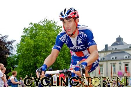 Amerikaans kampioen Hincapie (foto: © Laurens Alblas/Cyclingstory.nl)