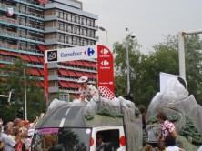 Carrefour, sponsor van de bergtrui (foto: © Tim van Hengel/Cyclingstory.nl)
