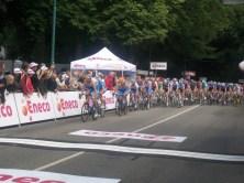 Garmin, de ploeg van leider van Svein Tuft, leidde de achtervolging. (Foto: © Tim van Dijk/Cyclingstory.nl