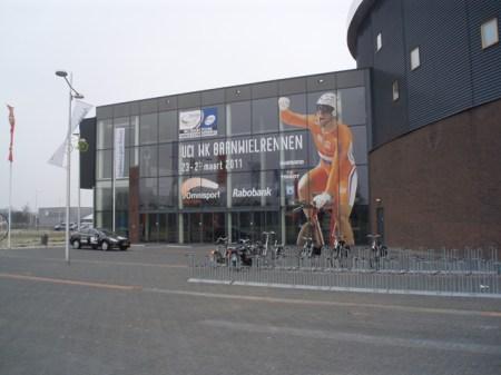 Het Omnisport in Apeldoorn. (foto: © Tim van Hengel/Cyclingstory.nl)