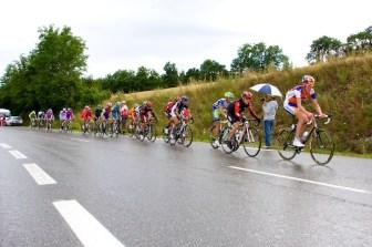 Gesink, op kop van de groep, volgt nog later. (© 2011 Laurens Alblas / Cyclingstory.nl)