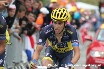 Alberto Contador gaat voor de dubbel (Foto: © Tim van Hengel / cyclingstory.nl)