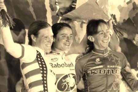 Katie Compton, Marianne Vos en Helen Wyman (foto: © Tim van Hengel / cyclingstory.nl)