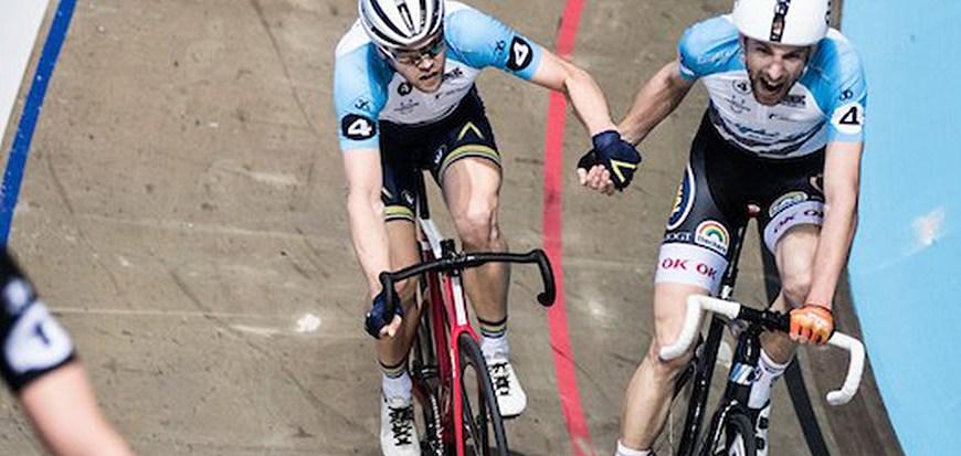 Jesper Mørkøv og Lasse Norman i front i Rotterdam