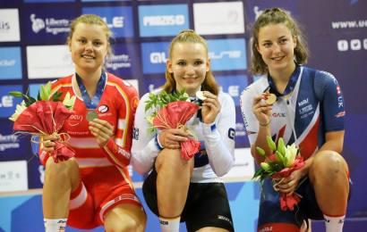 U23 EM i omnium gav sølv til Niklas Larsen og bronze til Amalie Dideriksen