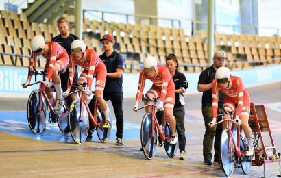 Det danske 4000 meter hold er i guldfinalen ved U19 VM