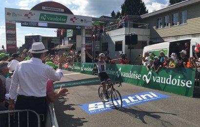 Oversigt med danske etapesejre i Schweiz Rundt