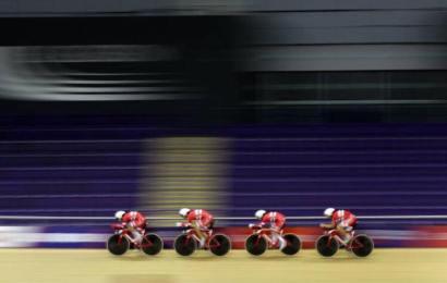 Danmark endte på femtepladsen i holdforfølgelse i London