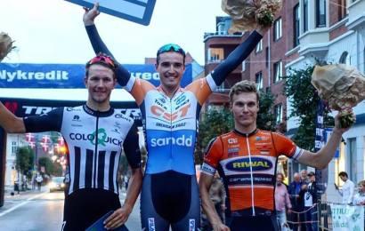 Sebastian Fini vandt Tour de Charlottenlund